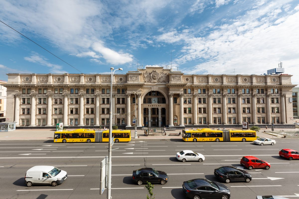 Central Post Office in Minsk