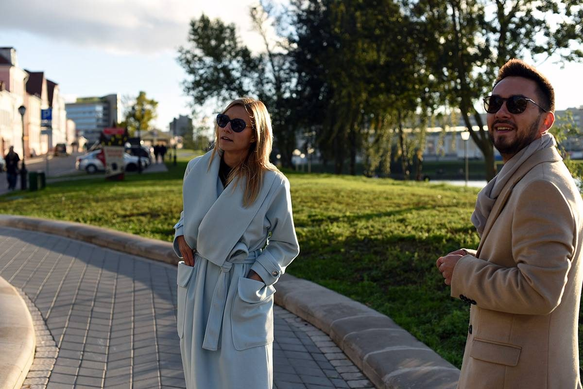 tourists in Minsk