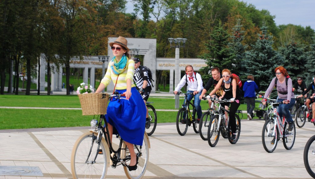 cycling in Minsk