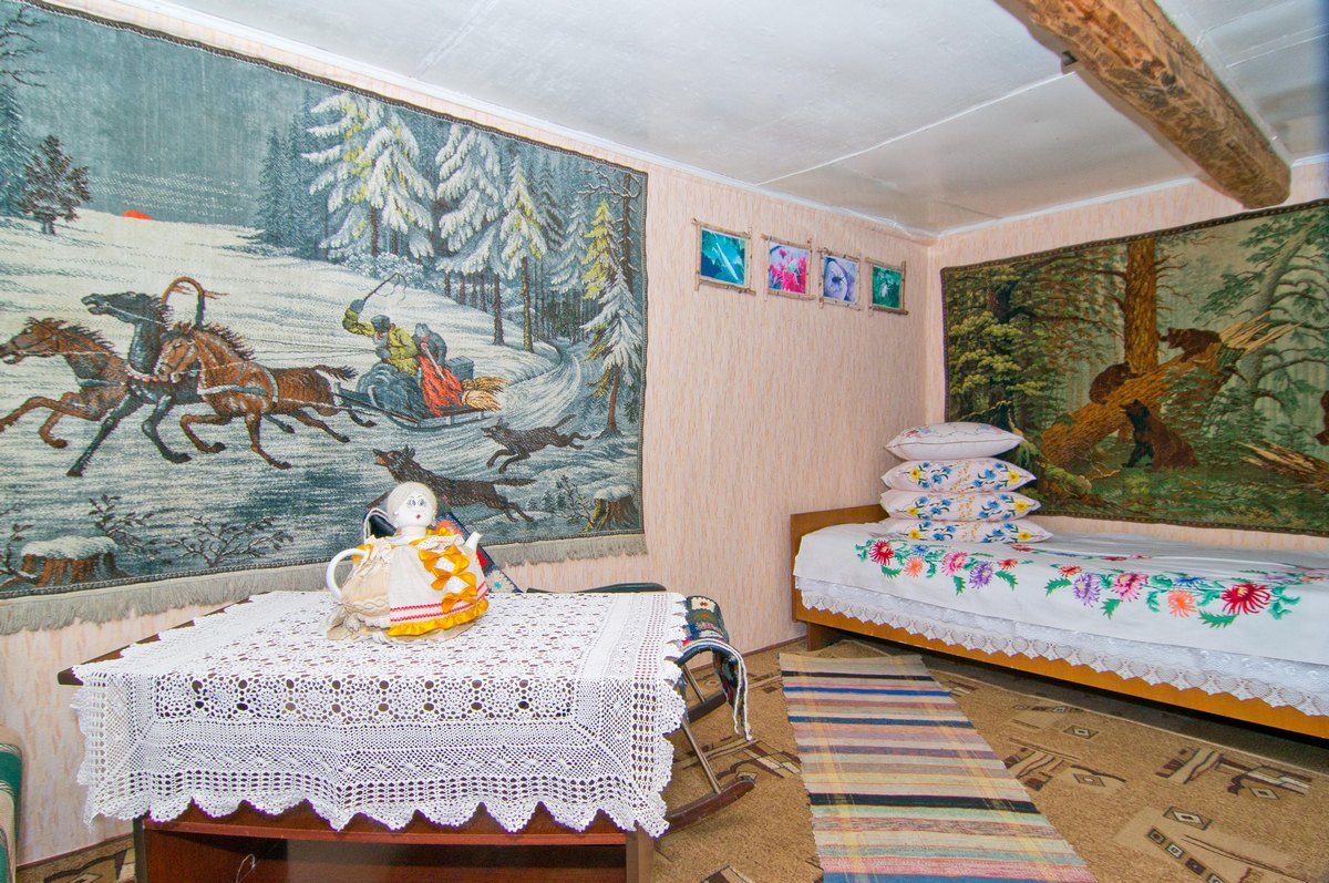 "eco-lodge's ""Na Zarechnoy Ulitse"" interior"