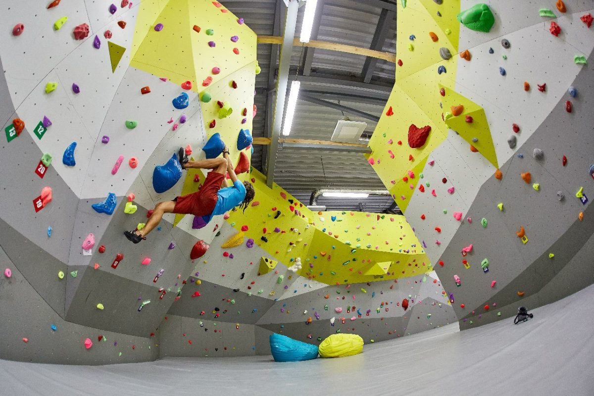 climbing center in Minsk